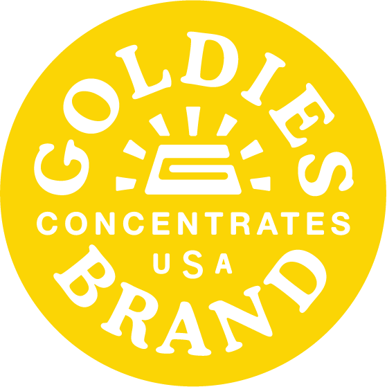 goldies cannabis marijuana concentrates logo