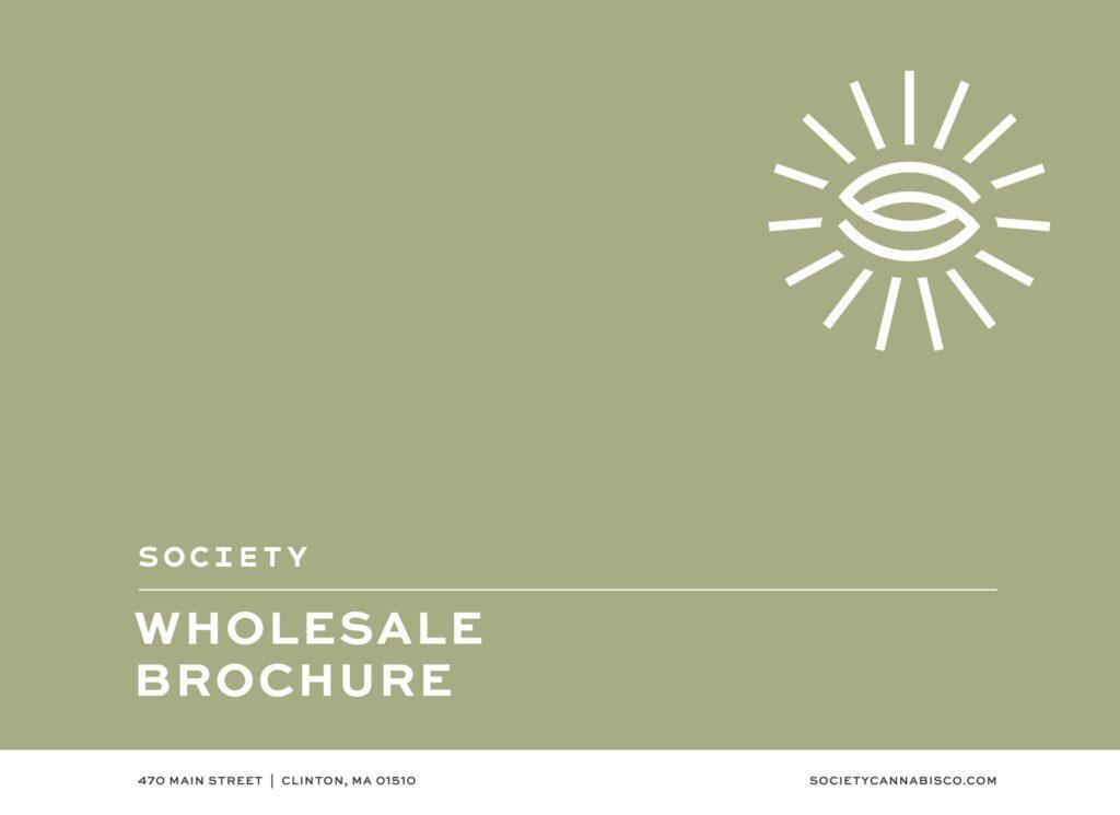 society cannabis wholesale brochure distributor information